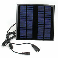 18V 2W Portable Solar Panel Battery Charger Power Bank for Laptop Car Truck Boat