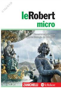 Le Robert micro dizionario monolingua francese