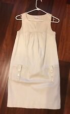 To The Max beige Summer Tunic Dress  100% pique cotton S