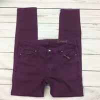 Blanknyc Skinny Jeans Size 30 Womens Stretch Purple 19N-70017