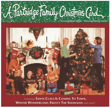The Partridge Family Christmas Card (CD) • NEW • David Cassidy, Holiday