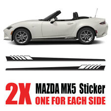 Mazda MX5 Graphics Eunos Roadster mk1 mk2  stripes Decals Stickers mz6