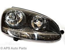 VW Golf GTI V Head Light Lamp RIGHT Side Drivers Offside Black OE Standard NEW