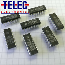 1 PC. MC33174N Single Supply OPAMP CS = DIL14