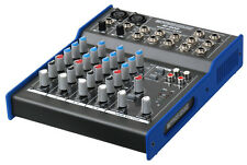 Pronomic M-602 6-Kanal Studio Mischpult PA Mixer Home Recording Phantomspeisung