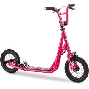 Mongoose Scooter Kick Tricks BMX Freestyle Kids Outdoor Ride Pink NEW