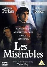 LES MISERABLES ANTHONY PERKINS RICHARD JORDAN JOHN GIELGUD UK REGION 2 DVD NEW
