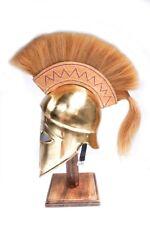 Brass Corinthian Helmet
