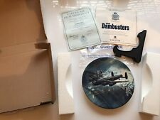 """Royal Worcester RAF Plate. """"Goner 68A""""The Dambusters Collection. Limited Edition"""