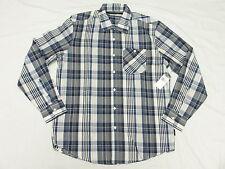 $64 NWT NEW Mens Sean John Button Down Shirt LS Plaid Woven Urban Size XL N213