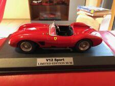 MG 1/18 Ferrari 500 TRC, road , red, new - no cmc, bbr, tecnomodel, mr