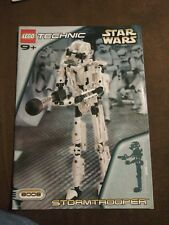 Star Wars Lego Technic 8008 Stormtrooper Instruction Manual Booklet Book ONLY