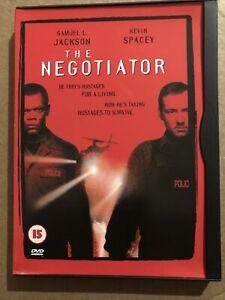 The Negotiator DVD 1998 Hostage Thriller Region 2 Snap Case