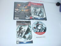 MEDAL OF HONOR: EUROPEAN ASSAULT game complete Greatest Hits - Playstation 2 PS2