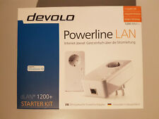 Original DEVOLO dLAN 1200+ Starter Kit Powerline Gigabit Adapter Art-Nr 9376 NEU