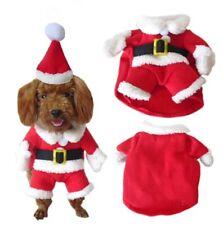 HOLIDAYS DOG/CAT SANTA CLAUS COSTUME