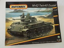 1/32 Scale MATCHBOX Kit 40992: Tracked Anti Aircraft Defence Weapon SEALED