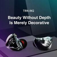 TRN IM2 HiFi Stereo Bass In-Ear Headset Wired Subwoofer Earphones No Mic