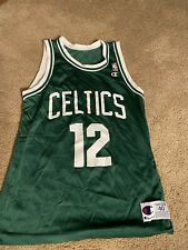 Vintage 1990s Green Dominique Wilkins Champion Jersey Boston Celtics Size 40