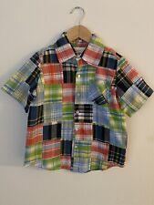 Hannah Kate Boys size 6 plaid short sleeve shirt