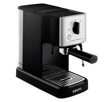 Krups Calvi Steam & Pump XP 3440, Espressomaschine (schwarz/silber)
