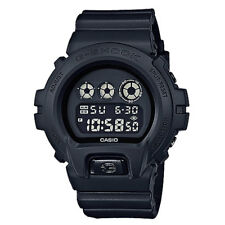 G-Shock Men's Digital DW6900BB-1 Watch Black Alarm Timepiece Sports Apparel