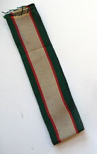 1936 British India General Service Medal Ribbon 5.5 Inches Original Govt. Issue