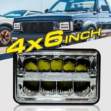 "1pc 4""x6"" H4 LED Headlights Light Bulbs Replace H4656/4651 Sealed Headlamp Truck"