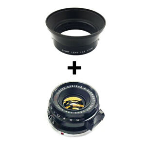 Light lens lab Lens 35mm F2 F/2 black paint for Leica Summicron M Eight Element