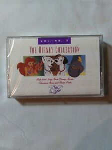The Disney Collection Volume 1 & 2 Cassette!  BRAND NEW - ORIGINAL PACKAGING