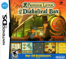 Professor Layton and the Diabolical Box (2009) Brand New Factory Sealed USA NDS