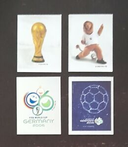 Panini FIFA World Cup Germany 2006 Front Page Stickers 1 - 4