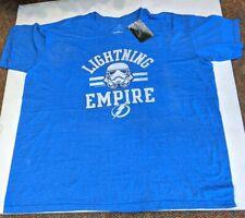 Tampa Bay Lightning Fanatics Star wars NHL T- Shirt New 3XL DEFECT