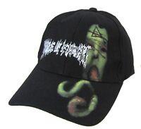 Godsmack Sun Logo Orange Fitted Baseball Hat Cap S//M New Official Band Merch