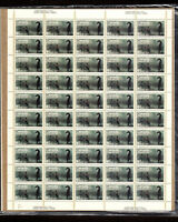NO 667 WITH 4 OF 667ii, CALGARY STAMPEDE (HORSE) , UNFOLDED FULL SHEET NH