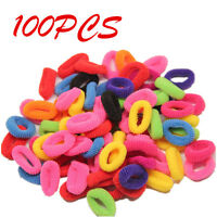 100pcs Elastic Rope Ring Hairband New Women Girls Hair Band Ponytail Holder