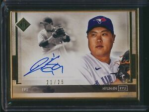 2020 Topps Transcendent Collection Framed Autograph Auto Hyun-Jin Ryu 21/25