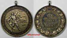 GERMANY Large Silver Medal 1892-1907 25 YEARS FATHERLAND 38mm 20,07 g.Toning UNC