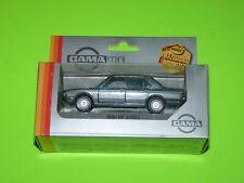 Gama mini BMW 5291 Grey 1:43 Scale Vintage Diecast Car NIB BIN West Germany