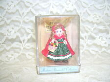 Madame Alexander Little Red Riding Hood Hallmark Merry Minis 1991 In Case