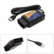 ELM327 USB OBD2 OBDII Can Bus Diagnostic Scan Tool Car Scanner Fault Code Reader