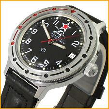 Vostok Men's KOMANDIRSKIE Automatic wristwatch Russia watch TANK 921306new
