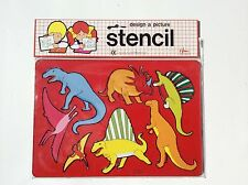 2 Sides Dinosaur Stencil 26.5*18.5cm