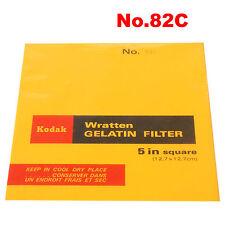 Kodak Wratten Gelatin Filter 12,7 x 12,7 cm. No.82C.