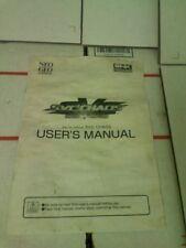 Snk vs. Capcom arcade users manual