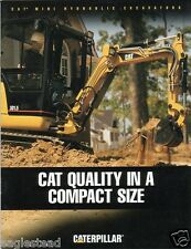 Equipment Brochure - Caterpillar - Mini Hydraulic Excavators - 2000 (E1063)
