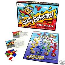 TOTALLY AWESOME THE GAME OF FANTASTIC FEATS BOARD GAME UNIVERSITY GAMES