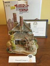 Lilliput Lane Diamond Cottage, 1989, by Blaise Hamlet, includes Deed, Signed
