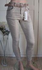 Damen-Jeans aus Denim mit Strass Hosengröße 42