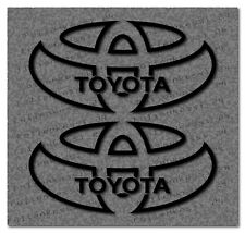 Toyota Logo 2 Aufkleber Decal Sticker Yaris Corolla Avensis Prius Toyo001